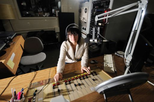 Vlada Bilyak produces CFRC's Calls From Home radio program.