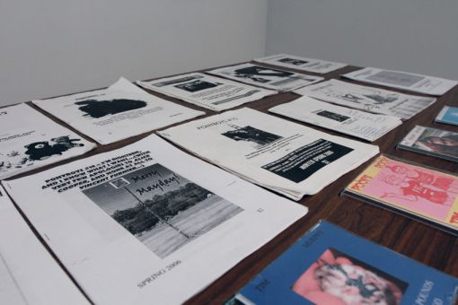 Tim Murphy has two created two zine publications of his own, Noise Queen and Ponyboys.