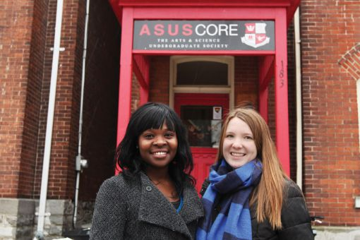 Musonda Yamfwa (left) and Kate Irwin (right) want to instate an education officer to focus on the advocacy and accessibility of education.