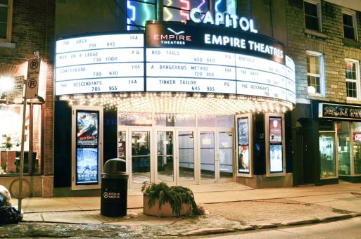 Empire Theatres bought the Princess Street location in 2005.