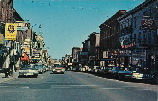 Princess Street in the 1960s.