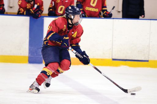 Gaels centre Morgan McHaffie is averaging almost two points per game this season.