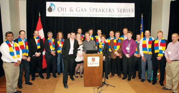 Last month, students, alumni and industry professionals gathered to discuss the future of Alberta's oil sands at the Oil and Gas Speaker Series.