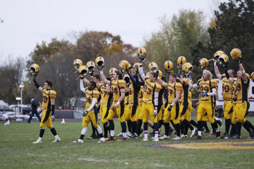 Pat Sheahan says the football team made great strides last season, especially after beating Western and Wilfrid Laurier.