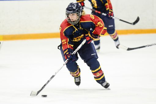 Winger Alana Smith scored the game-winning goal against the Ryerson Rams on Saturday.