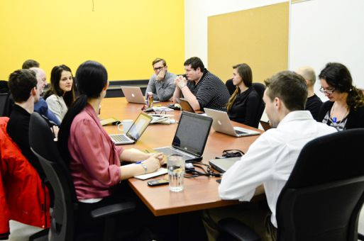 At Thursday's meeting, AMS Board of Directors finalized the decision to leave CFRC's management the same for now.