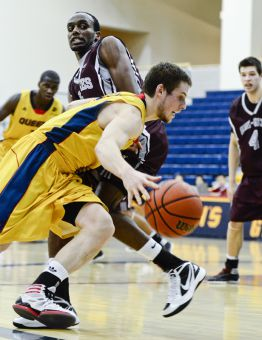 Second-year guard Ryan Golden will be the basketball team's leader next season.
