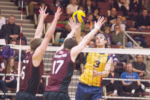 Outside hitter Joren Zeeman was named to the CIS first-team all-star team on Thursday morning.