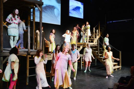 The Queen's drama department presents Penelope Waits which has a 21 person cast.