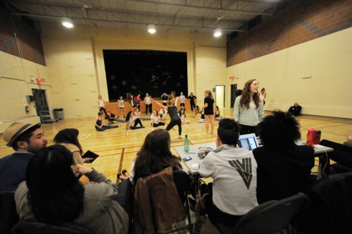 Vogue Charity Fashion Show had their last all-cast rehearsal on Wednesday night in MacGillivray Brown Hall.