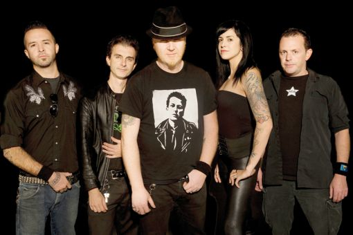 The Mahones are known as an Irish-punk band.
