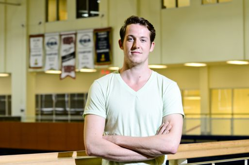 In April 2010, Bryan Fautley quit the men's volleyball team. But that changed after he came out to his teammates.