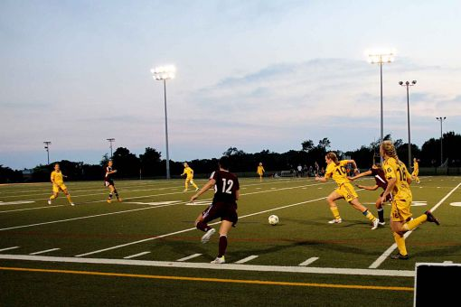 The women's soccer team enters the 2012 season ranked #1 in the country.