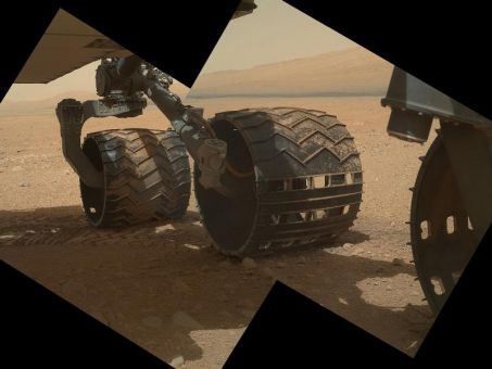 The Mars rover is the first of its kind to investigate the possibility of life ever existing on Mars.