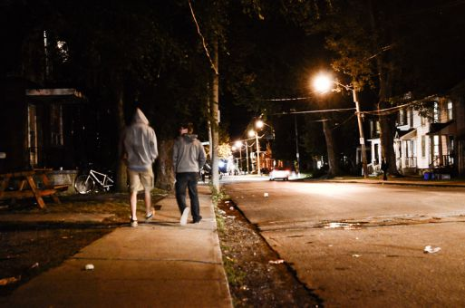 The Police deployed eight officers to the Queen's area on Sept. 8, twice the number deployed on a typical night.