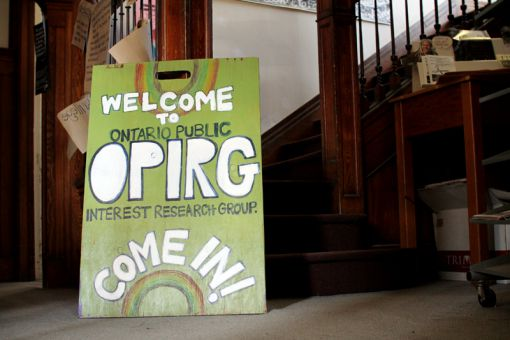 OPIRG continues to occupy space in the Grey House.