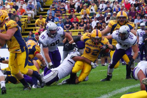 Gaels running back Ryan Granberg scored the game-winning touchdown against Western.