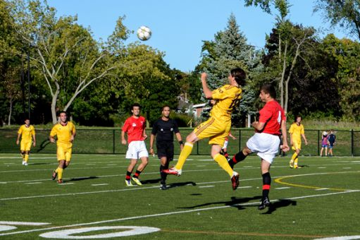 The men's soccer team currently sits first in the OUA East Division, having recorded 13 points in their first five games. On Sunday, they defeated the Carleton Ravens 4-0. Carleton, the defending OUA East champions, entered the game ranked eighth in the country.