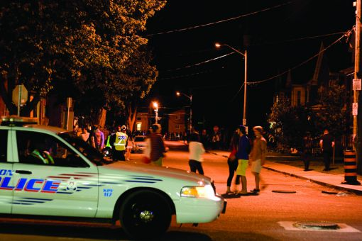 Kingston Police arrested 12 people for public intoxication on the weekend.