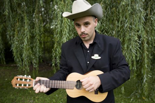 Nick Ferrio says one of his songs is about a bad experience he had with the police in Switzerland.