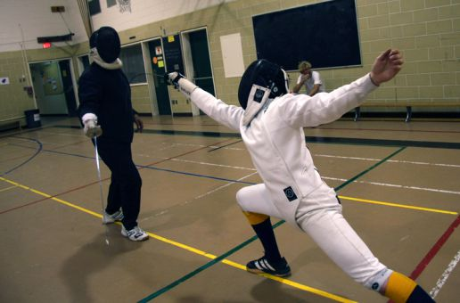 According to School of Business professor Monica LaBarge, a lack of accessibility in communities makes sports like fencing lesser-known to the public.