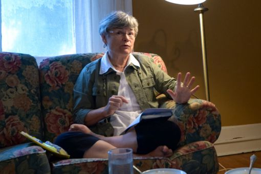 Philosophy professor Christine Overall spoke at the Ban Righ Women's Centre last week to discuss her new book, Why Have Children? The Ethical Debate.