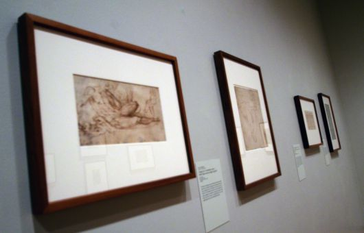 The Frances K. Smith Gallery has several large and small drawings ranging from ones of random people to mythological characters.