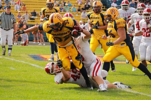 Running back Ryan Granberg has played a substantial role in Queen's 3-1 start to the season.
