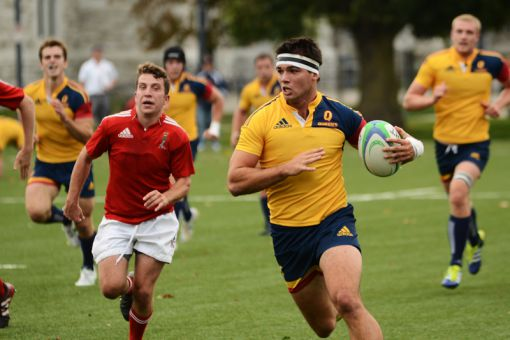 Last Friday's game saw four new additions to the Gaels first team.