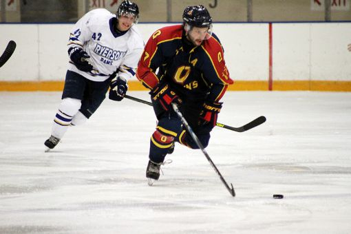 Six different players scored in the Gaels' 6-3 win over Ryerson on Friday.