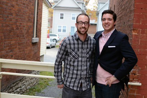 Masters students Colin Hasting and Dan Vena created Men Who Like Feminism in response to attitudes about gender on campus.