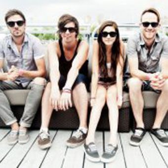 Crystalyne lead singer Marissa Datolli says she doesn't mind being the only girl in the band since she's a tomboy who likes hanging out and playing video games with the guys.