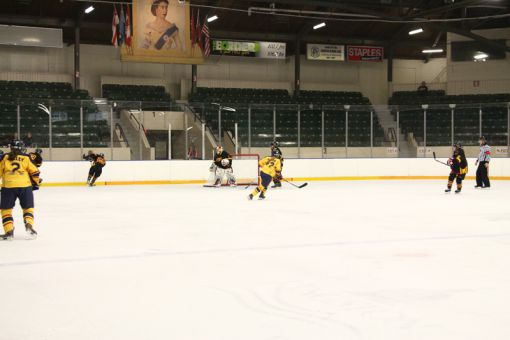 The Gaels women's and men's hockey teams have seen a sharp drop in fan attendance since the program's switch to the Memorial Centre, North of Princess St.