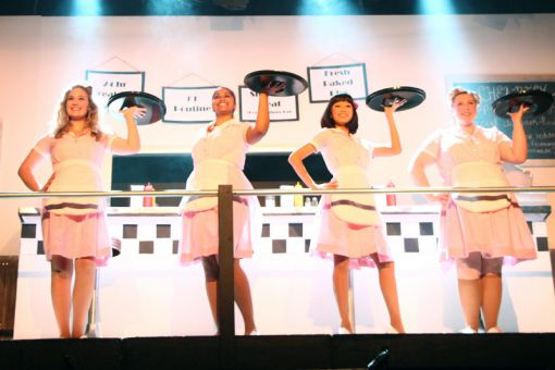 Queen's drama department's production of Counter Service included a mini play afterwards called Lives of the Great Waitresses.