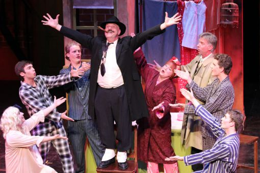 Gypsy's largely female cast stole the show on Wednesday night with strong performances from Amie Bello and Emily Fennell, but Daniel Carp as Tulsa shined as a male lead as well.
