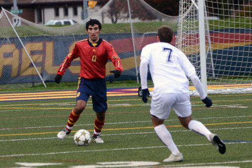 The men's soccer team is looking to finish first in the OUA East again next season, in order to host the 2013 OUA Final Four.