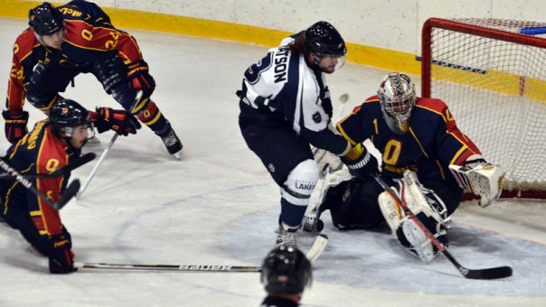 The Gaels lost a 3-2 lead against Nipissing last Saturday, allowing the Lakers to come back for the second time in two weeks.
