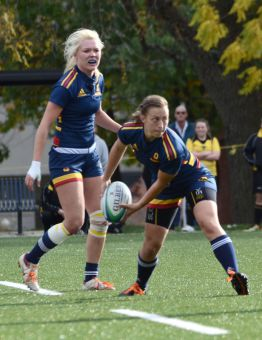 Women's rugby fell 10-6 to Guelph in a tightly-contested OUA championship game.