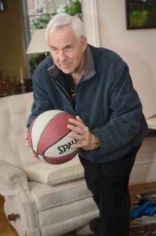 Geoff Smith played NCAA basketball at UC Santa Barbara before joining the Gaels as an assistant coach in 1973.