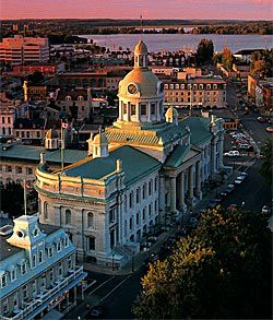 The service sector makes up 84 per cent of Kingston's economic productivity, business professor Gary Bissonette says.