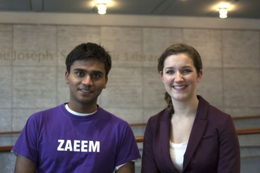 Team Alli & Zaeem hopes to draw more students to the ASUS Core.
