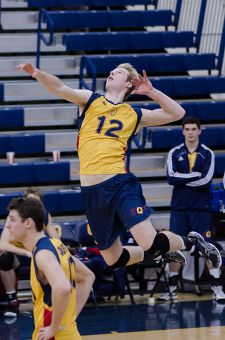 Mike Tomlinson posted 31 kills against the Lancers.