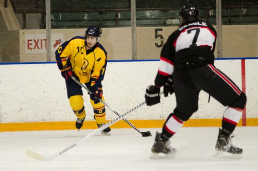 Fourth-year forward Joey Derochie scored the overtime winner in the Gaels' 4-3 win over Toronto last Saturday.