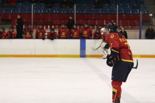 Chantal Morais was the first of five Gaels to miss their shoot-out try.