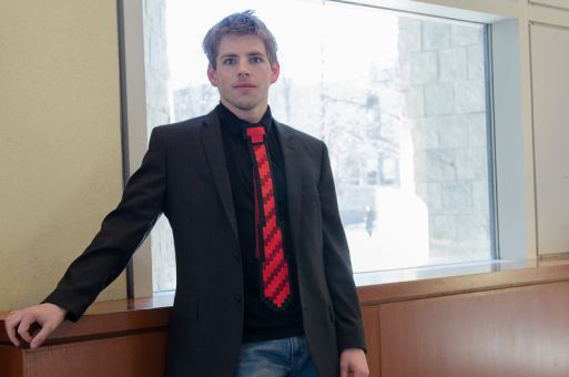 Alex Wilson's campaign puts a priority on academic issues.