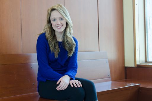 Emily Fleck says her EngSoc experience gives her an edge in the race.