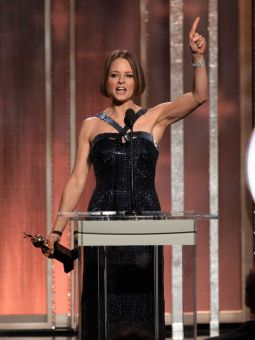 Jodie Foster's coming out at this year's Golden Globes and is another example of raising queer issues' profile in the media.