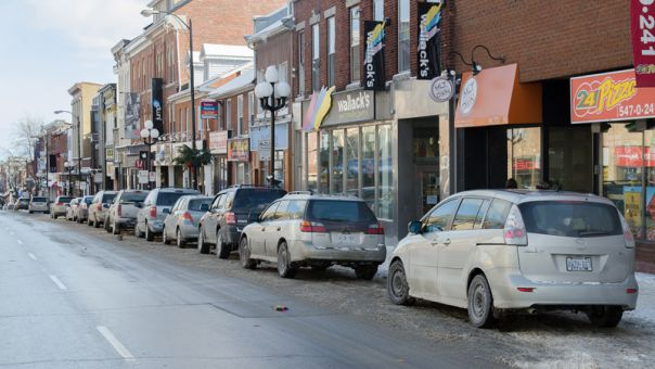 Cyndy Gibson, co-owner of Agent 99, Blueprint, and Three Boutique on Princess St. says that rent is always increasing.