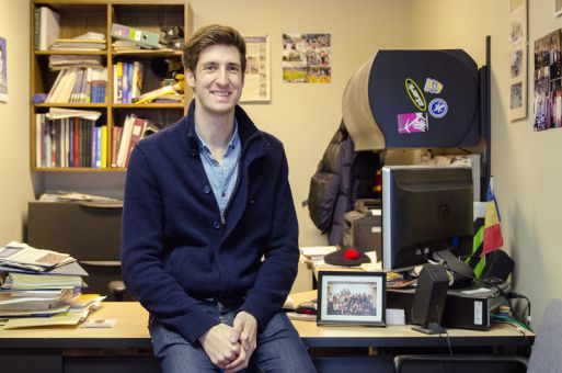 For current rector Nick Francis, supporting and advocating on behalf of students led him to run for the position.