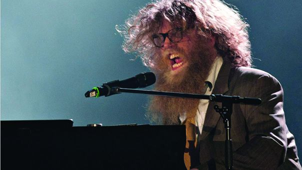 Ben Caplan recalls one instance while touring when speeding down a German highway to get to a show got him and his band into trouble with the German police.